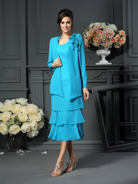Chiffon Lange Mouw Special Occasion Wrap