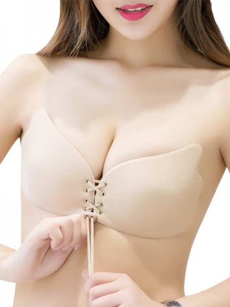 Silicone 3/4 Cup Strapless party Bra